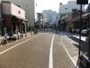 秋の松山城(松山城ロープウェイ街)の写真です。クリックすると拡大します。