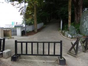 東雲口登城道の写真です。クリックすると拡大します。