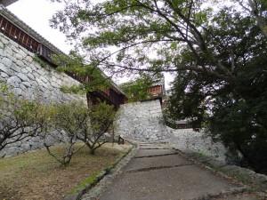 古町口登城道の写真です。クリックすると拡大します。