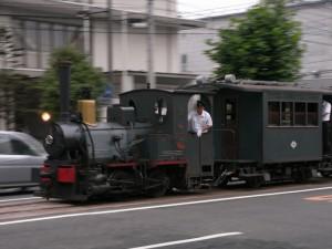 坊っちゃん列車の写真です。クリックすると拡大します。