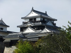 松山城天守閣の写真です。クリックすると拡大します。