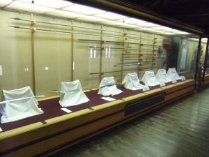 松山城本丸本壇一階の写真です。クリックすると拡大します。