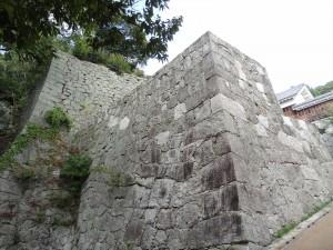 黒門口登城道の写真です。クリックすると拡大します。