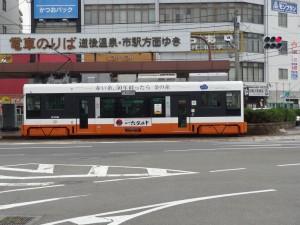 市内電車の写真です。クリックすると拡大します。