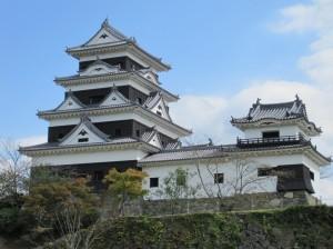大洲城天守の写真です。クリックすると拡大します。