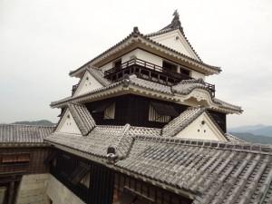 松山城、本丸本壇よりの写真です。クリックすると拡大します。