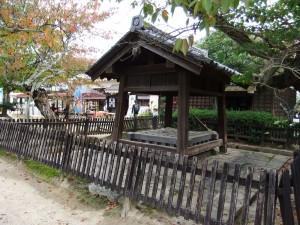 松山城本丸井戸の写真です。クリックすると拡大します。