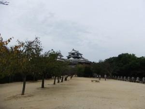 松山城、本丸の写真です。クリックすると拡大します。