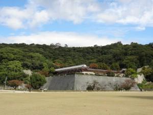 松山城二ノ丸庭園の写真です。クリックすると拡大します。