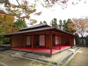 松山城二之丸、聚楽亭の写真です。クリックすると拡大します。
