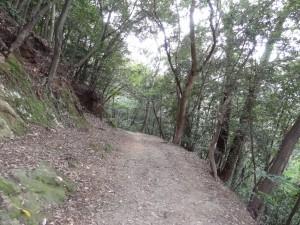 松山城、古町口登城道の写真です。クリックすると拡大します。