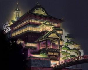 千と千尋の神隠しの「油屋」の画像です。